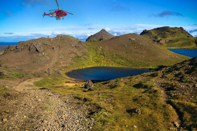 Crater Lakes / Heli Biking