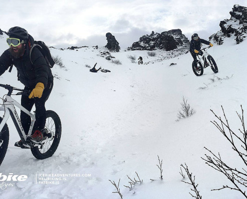 winter adrenaline rush on fatbikes