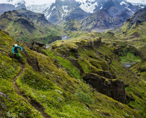 great singletrack Iceland MTB trip